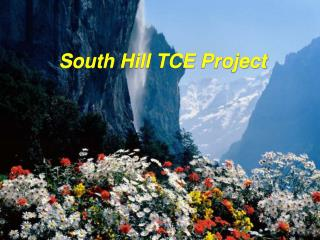 South Hill TCE Project