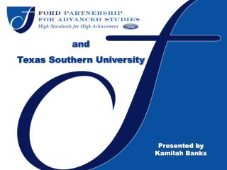 and  Texas Southern University