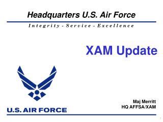 Maj Merritt                                                             HQ AFFSA/XAM