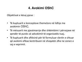 4. Avokimi  OShC