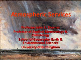 Atmospheric Services