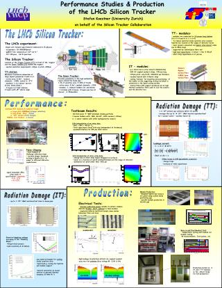 Performance Studies & Production of the LHCb Silicon Tracker