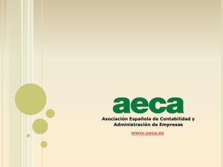Asociaci�n Espa�ola de Contabilidad y Administraci�n de Empresas