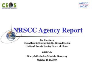 NRSCC Agency Report