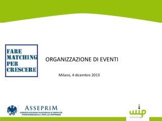 Milano,  4 dicembre 2013