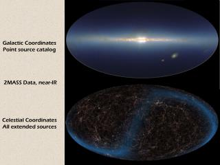 Celestial Coordinates All extended sources