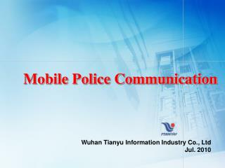 Mobile Police Communication