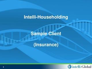 Intelli-Householding Sample Client (Insurance)