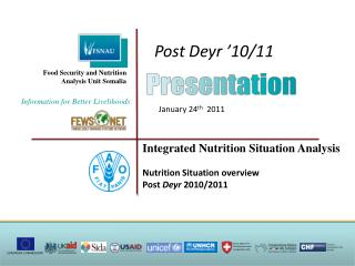 Food Security and Nutrition Analysis Unit Somalia