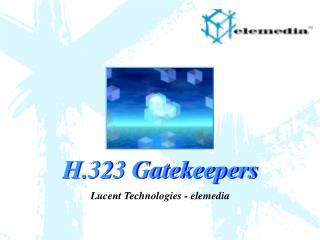 H.323 Gatekeepers