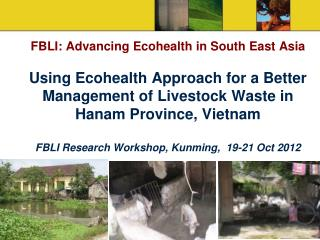 1. Vietnam research  team