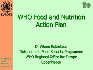 WHO Food and Nutrition Action Plan