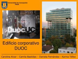 Edificio corporativo DUOC