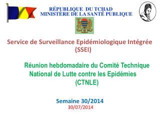 Réunion hebdomadaire du Comité Technique National de Lutte contre les Epidémies  (CTNLE)