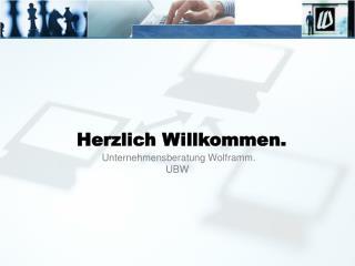 Unternehmensberatung Wolframm. UBW