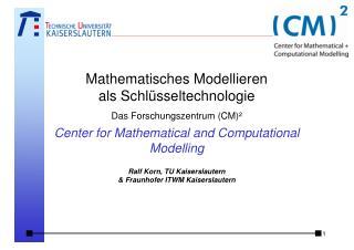 Was ist mathematisches Modellieren ?