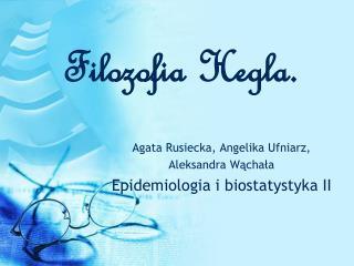 Filozofia Hegla.
