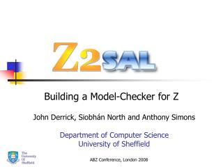Building a Model-Checker for Z