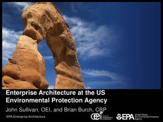 Enterprise Architecture at the US Environmental Protection Agency