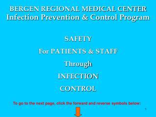 Infection Prevention & Control Program