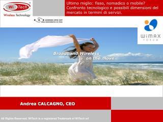Andrea CALCAGNO, CEO