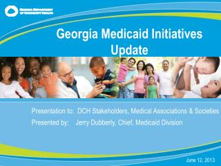 Presentation to:  DCH Stakeholders, Medical Associations & Societies