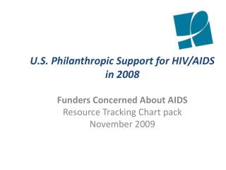 U.S. Philanthropic Support for HIV/AIDS in 2008