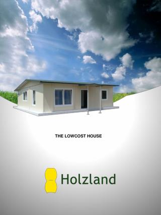 THE LOW­COST HOUSE