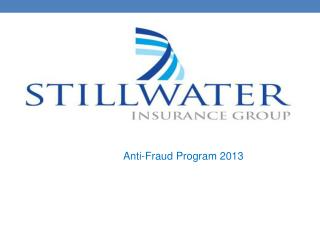 Anti-Fraud Program 2013