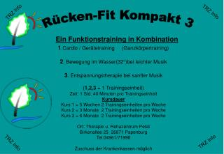 Ein Funktionstraining in Kombination