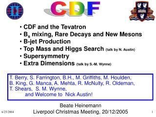 Beate Heinemann Liverpool Christmas Meeting, 20/12/2005