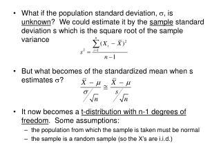 Properties of t-distribution w/  n   degrees of freedom (df): symmetric around zero (mean is zero)