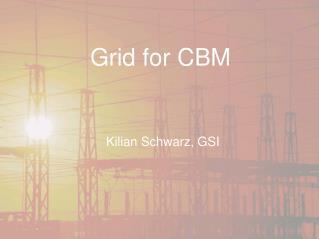 Grid for CBM