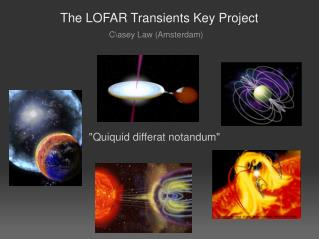 The LOFAR Transients Key Project