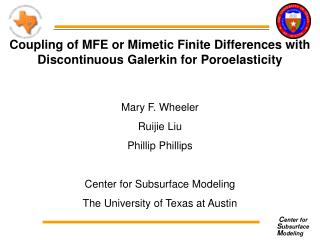 Coupling of MFE or Mimetic Finite Differences with Discontinuous Galerkin for Poroelasticity