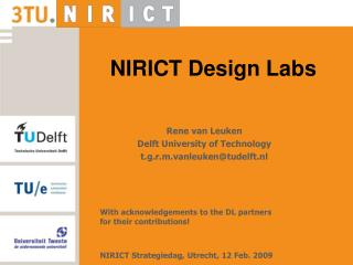NIRICT Design Labs