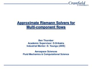 Approximate Riemann Solvers for  Multi-component flows