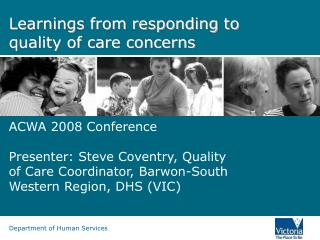 Learnings from responding to quality of care concerns