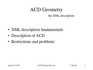 ACD Geometry