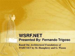 WSRF.NET