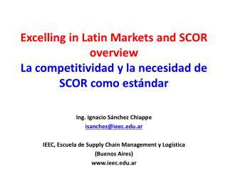 Ing. Ignacio Sánchez Chiappe isanchez@ieec.ar