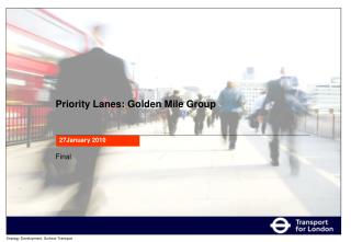 Priority Lanes: Golden Mile Group