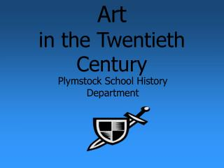 Art in the Twentieth Century