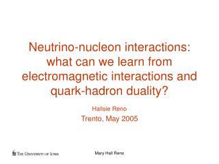 Hallsie Reno Trento, May 2005