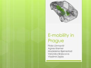 E-mobility in Prague