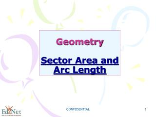 Geometry Sector Area and Arc Length