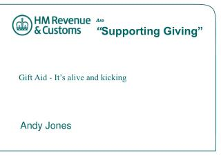 """Are  """" Supporting Giving"""""""