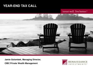 YEAR-END TAX CALL