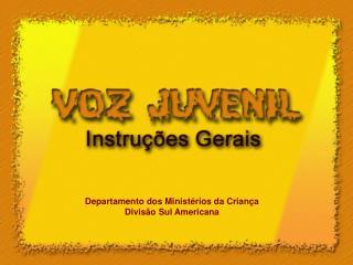 Departamento dos Ministérios da Criança Divisão Sul Americana