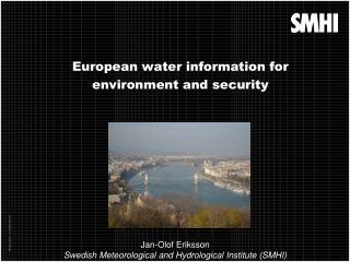 European water information for  environment and security